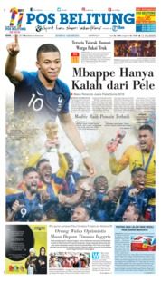 Cover Pos Belitung 17 Juli 2018