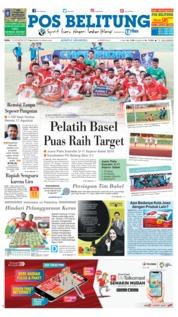Cover Pos Belitung 15 Agustus 2018
