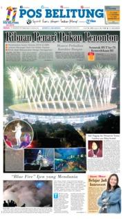 Cover Pos Belitung 19 Agustus 2018