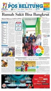 Cover Pos Belitung 22 September 2018