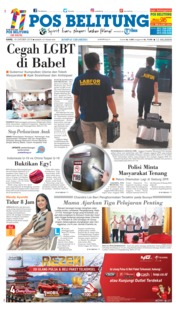 Cover Pos Belitung 18 Oktober 2018