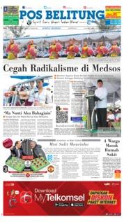 Cover Pos Belitung 07 November 2018