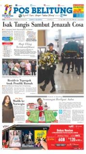 Cover Pos Belitung 08 November 2018