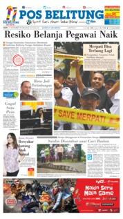 Cover Pos Belitung 15 November 2018