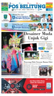 Cover Pos Belitung 21 November 2018