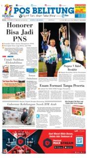 Cover Pos Belitung 04 Desember 2018