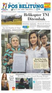 Cover Pos Belitung 06 Desember 2018