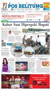 Cover Pos Belitung 07 Desember 2018