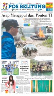 Cover Pos Belitung 08 Desember 2018