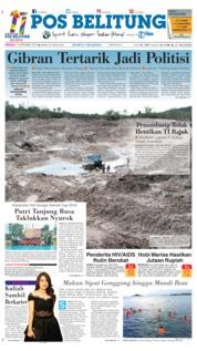 Cover Pos Belitung 09 Desember 2018