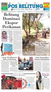 Cover Pos Belitung 12 Desember 2018