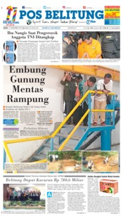 Pos Belitung Cover 14 December 2018