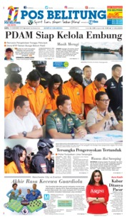 Cover Pos Belitung 15 Desember 2018