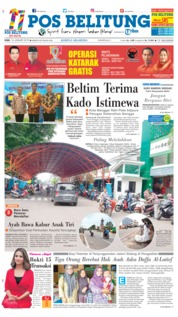 Cover Pos Belitung 16 Januari 2019