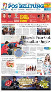 Cover Pos Belitung 18 Januari 2019