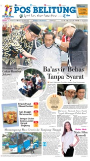 Cover Pos Belitung 20 Januari 2019