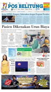 Cover Pos Belitung 22 Januari 2019