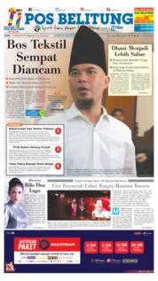 Cover Pos Belitung 15 Februari 2019