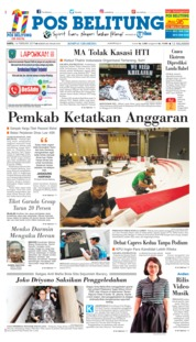 Pos Belitung Cover 16 February 2019