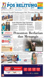 Cover Pos Belitung 18 Februari 2019