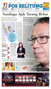 Cover Pos Belitung 19 Februari 2019