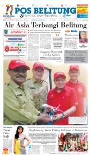 Cover Pos Belitung 20 Februari 2019