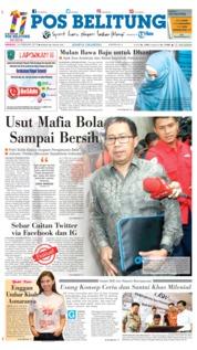 Pos Belitung Cover 24 February 2019