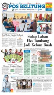 Cover Pos Belitung 12 Maret 2019