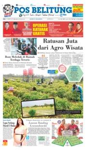 Cover Pos Belitung 13 Maret 2019