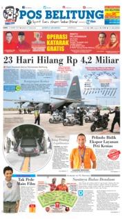 Cover Pos Belitung 14 Maret 2019