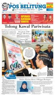 Cover Pos Belitung 15 Maret 2019