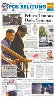 Cover Pos Belitung 16 Maret 2019