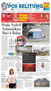 Cover Pos Belitung 18 Maret 2019