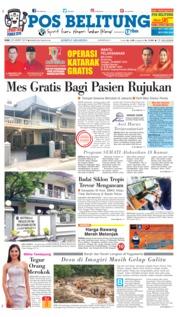 Cover Pos Belitung 20 Maret 2019