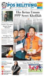 Cover Pos Belitung 23 Maret 2019