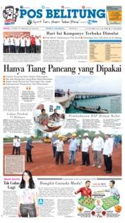 Cover Pos Belitung 24 Maret 2019