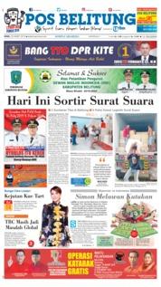 Cover Pos Belitung 25 Maret 2019
