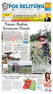 Cover Pos Belitung 26 Maret 2019
