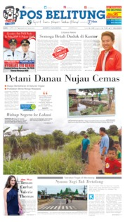 Cover Pos Belitung 04 April 2019