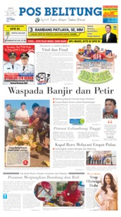 Cover Pos Belitung 06 April 2019