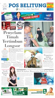 Cover Pos Belitung 11 April 2019