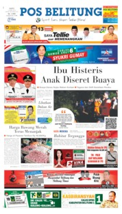 Cover Pos Belitung 13 April 2019