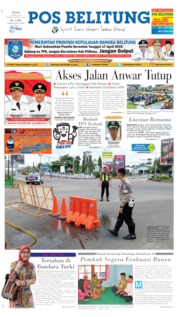 Cover Pos Belitung 15 April 2019