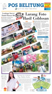 Cover Pos Belitung 17 April 2019