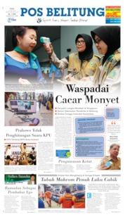 Pos Belitung Cover 15 May 2019
