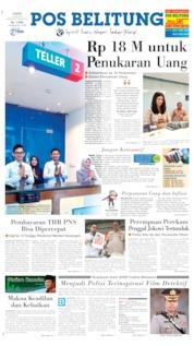 Pos Belitung Cover 16 May 2019