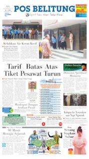 Pos Belitung Cover 18 May 2019