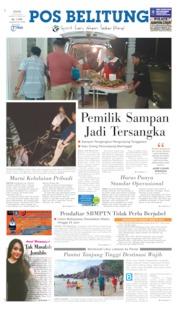 Cover Pos Belitung 10 Juni 2019