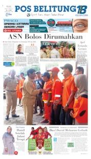 Pos Belitung Cover 11 June 2019