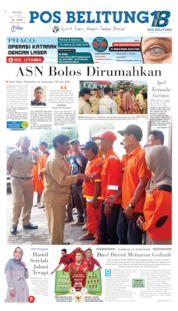 Cover Pos Belitung 11 Juni 2019